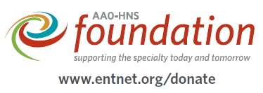 Donate to the AAO/HNS Foundation