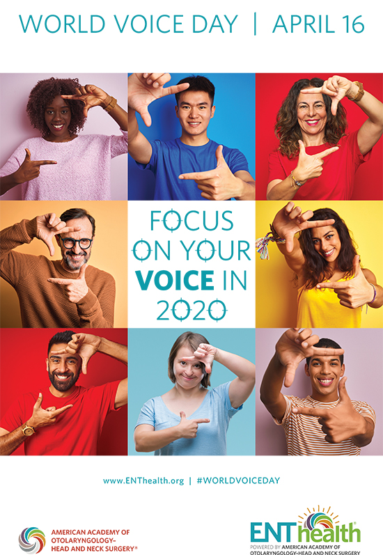 Download the World Voice Day 2020 poster